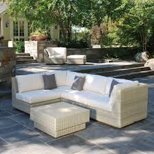 Outdoor Deep Seating Sectional Sofa by Frontera Outdoor Furniture Distinctive Style Front Porch To Backyard
