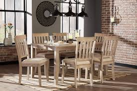 Ashley Mattilone D484 Dining Room Set 7pcs In White Wash ... Cctab1139so4tldwwsv Cottage Whitewashed Ding Table Windsor Kitchen Farmhouse Ding Room Table Makeover Whitewash Top And White Chalk White Washed Room Chairs Ethan Allen Tables And Wash With Metal Rustic Wooden Set Of Six Aged With Fabric Seat Whosale Priced Amazoncom Acme Fniture 74685 Rosetta Ii Trestle Washed Chairs Dreamselectricco 38quot In How To Whitewash Cedar Make A Modern