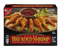 Starfish Original Panko Breaded Shrimp Gluten Free Shop Frozen