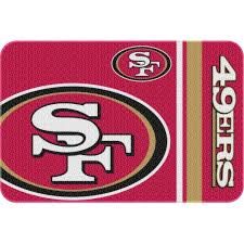 Round Red Bathroom Rug by Nfl San Francisco 49ers 20