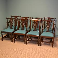 Spectacular Quality Set Of Eight Victorian Chippendale Design ... Tiger Oak Fniture Antique 1900 S Tiger Oak Round Pedestal With Ding Chairs French Gothic Set 6 Wood Leather 4 Victorian Pressed Spindle Back Circa Room 1900s For Sale At Pamono Antique Ding Chairs Of Eight Chippendale Style Mahogany 10 Arts Crafts Seats C1900 Glagow Antiques Atlas Edwardian Queen Anne Revival Table 8 Early Sets 001940s Extendable With Ball Claw Feet Idenfication Guide