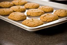 Cookies Fresh Out Of The Oven Stock Photo Dissolve