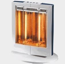 le radiateur à halogène ou radiateur à quartz