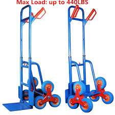 440lbs Hand Truck 6 Wheel Stair Climber Moving Dolly Furniture ... The Original Upcart Stair Climbing Hand Truck Domestify Magliner 500 Lb Capacity Alinum Modular With New Age Industrial Stairclimber Rotatruck Youtube Us Free Shipping Portable Folding Cart Climb Shop Upcart 200lb Black At Lowescom Whosale Truck Platform Wheels Online Buy Best Moving Up To 420lb Hs3 Climber Tall Handle Protypes By Jonathan Niemuth Coroflotcom 49 Beautiful Electric Home 440lb Dolly