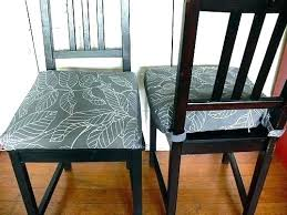 Dining Room Chair Pads With Ties Back Cushions