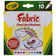 Crayola Bathtub Fingerpaint Soap Non Toxic by Crayola Fabric Markers 10 Pack The Warehouse