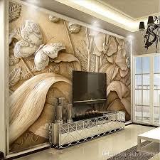 großhandel moderne geprägte 3d wandbilder schlafzimmer tapete tv hintergrundwand kundenspezifische wandbilder sofatapete europäische wandbeläge