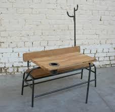 bureau ecolier en bois bureau enfant btp enf009 giani desmet meubles indus bois métal