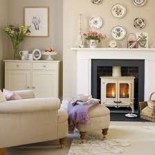 Country Cottage Living Room Decor DECORATION