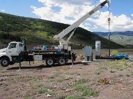 100 Service Truck With Crane For Sale Well Pump Nickerson Company Inc