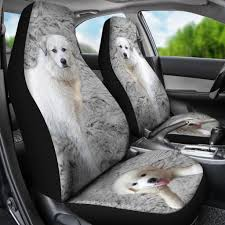Great Pyrenees Dog Print Car Seat Covers-Free Shipping - INNOVATIVE ... Waterproof Dog Pet Car Seat Cover Nonslip Covers Universal Vehicle Folding Rear Non Slip Cushion Replacement Snoozer Bed 2018 Grey Front Washable The Best For Dogs And Pets In Recommend Ksbar Original Cars Woof Supplies Waterresistant Full Fit For Trucks Suv Plush Paws Products Regular Lifewit Single Layer Lifewitstore Shop Protector Cartrucksuv By Petmaker Free Doggieworld Xl Suvs Luxury