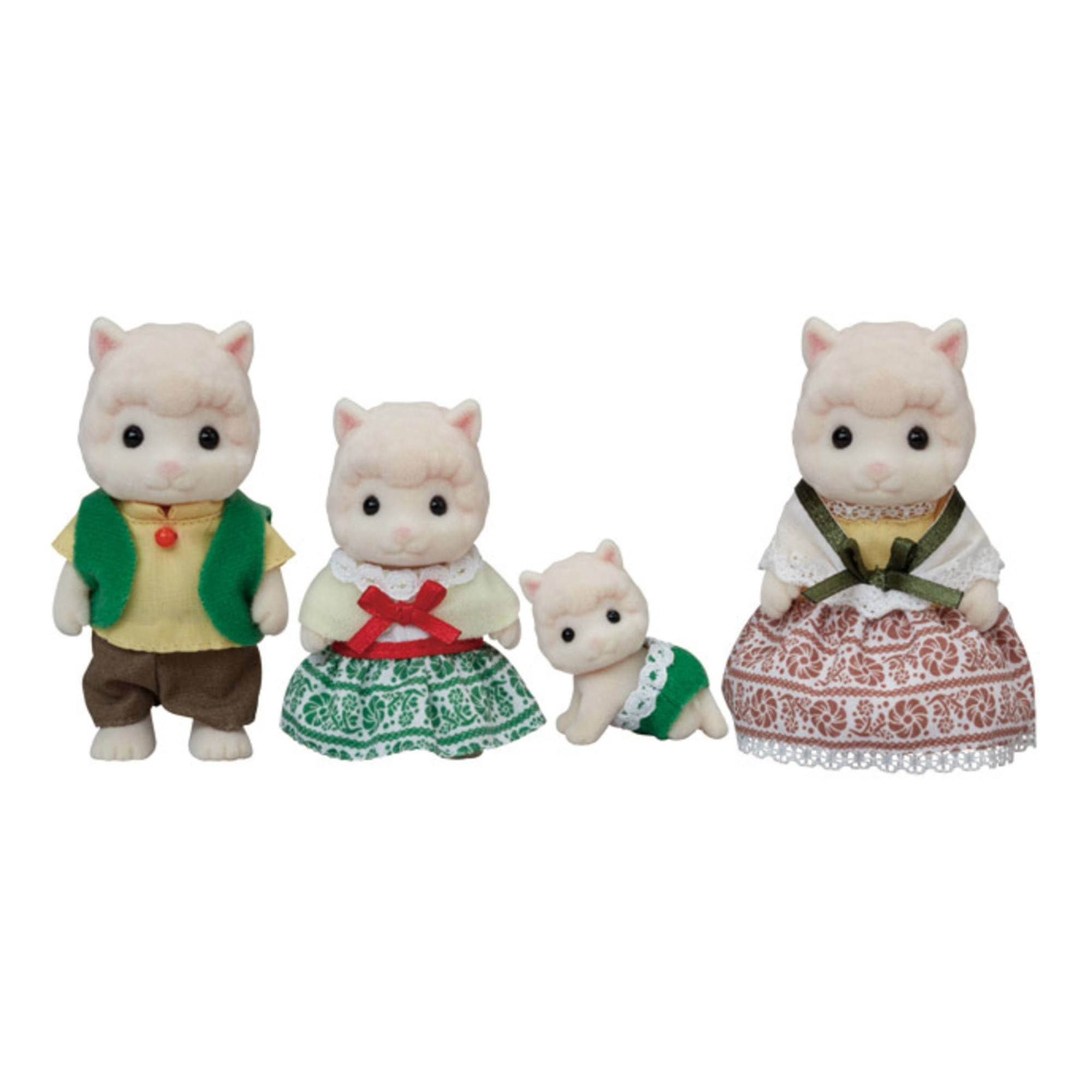 Calico Critters - Woolly Alpaca Family