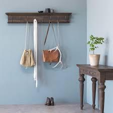 Details About Retro Wood Wall Mount Metal Hook Rack Holder Coat Hat Hanger Bag Key Organizer