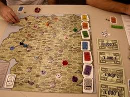 Reiner Knizias Stephensons Rocket Knizia Expands His Fleet Of Tile Laying Games With This Game About Colliding Railroads In Early 1800s England
