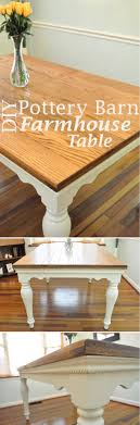20+ Stunning DIY Farmhouse Tables For Rustic Decor Pottery Barn Farmhouse Table Office And Bedroom Coffee Farmhouse Fniture Wonderful Rustic Ana Vintage Benchwright Extending Ding Decohoms White Benchwright Farmhouse Ding Table Diy Best 25 Tables Ideas On Pinterest Wood Dning Inspired The Weathered Fox Jute Placematsperfect For Summer