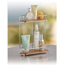 Bamboo Corner Two Shelf Organizer
