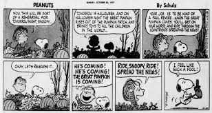 Linus Great Pumpkin Image by Great Pumpkin Where Are You Peanuts Halloween 1977 I Want To