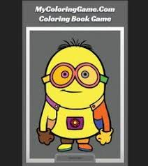 Online Minion Coloring Book Game