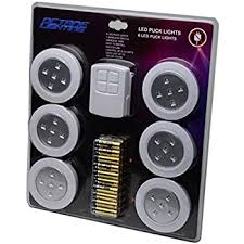 GLP0001 LED Wireless Puck Lights with Remote and Batteries 6