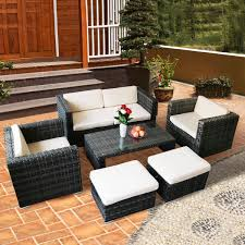100 Retractable Patio Chairs Outdoor Cushion Chair Covers Furniture Caspian Clearance
