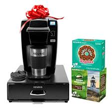 Keurig K15 Single Serve Coffee Maker Holiday Bundle With 36 K Cup Pods 12