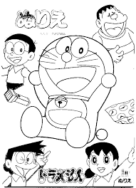 Doraemon Coloring In Pages 3