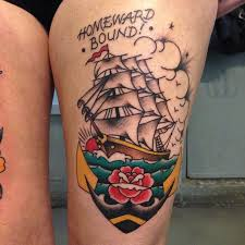 30 Mind Blowing Boat Tattoos