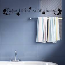 Teal Bathroom Wall Decor by Compare Prices On Bathroom Wall Decals Online Shopping Buy Low