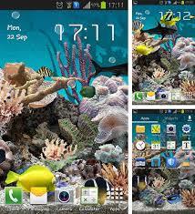 fonds d écran animé aquariums pour android téléchargez