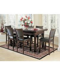 Burlington Series 100717SD 3 In 1 Game Table Set With 6 Leatherette Chairs Craps