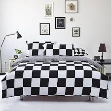 Bed Linen marvellous black and white bedding double Black And