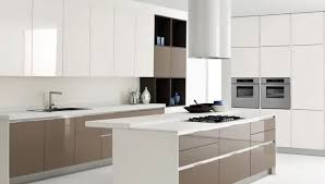 Kitchen White Kitchen Design Gallery With White Wall And White