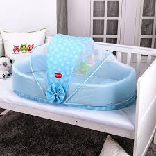 Portable Folding Baby Bed Folding Baby Cot Band Mosquito Net Baby
