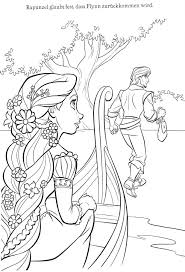Tangled Coloring Pages Online Free Printable Princess Sheets Rapunzel Download