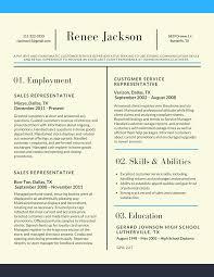 Sales Representative Latest Resume Sample