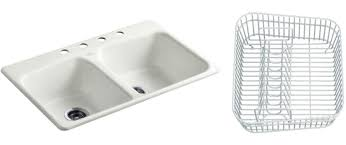 Kohler Sink Rack Almond by Kitchen Sink Accessories