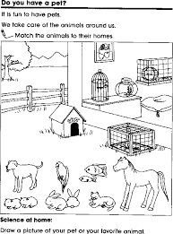 House Of Hugs Pets Coloring Page