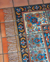 Tiled Carpet by Malibu Tiles Architectural Decoration From California Old House