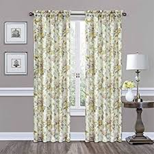 Waverly Fabric Curtain Panels by Amazon Com Traditions By Waverly 14314052084cri Navarra Floral 52