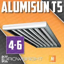 t5 grow light complete w t5ho bulbs 2 4 6 8 l 24 48
