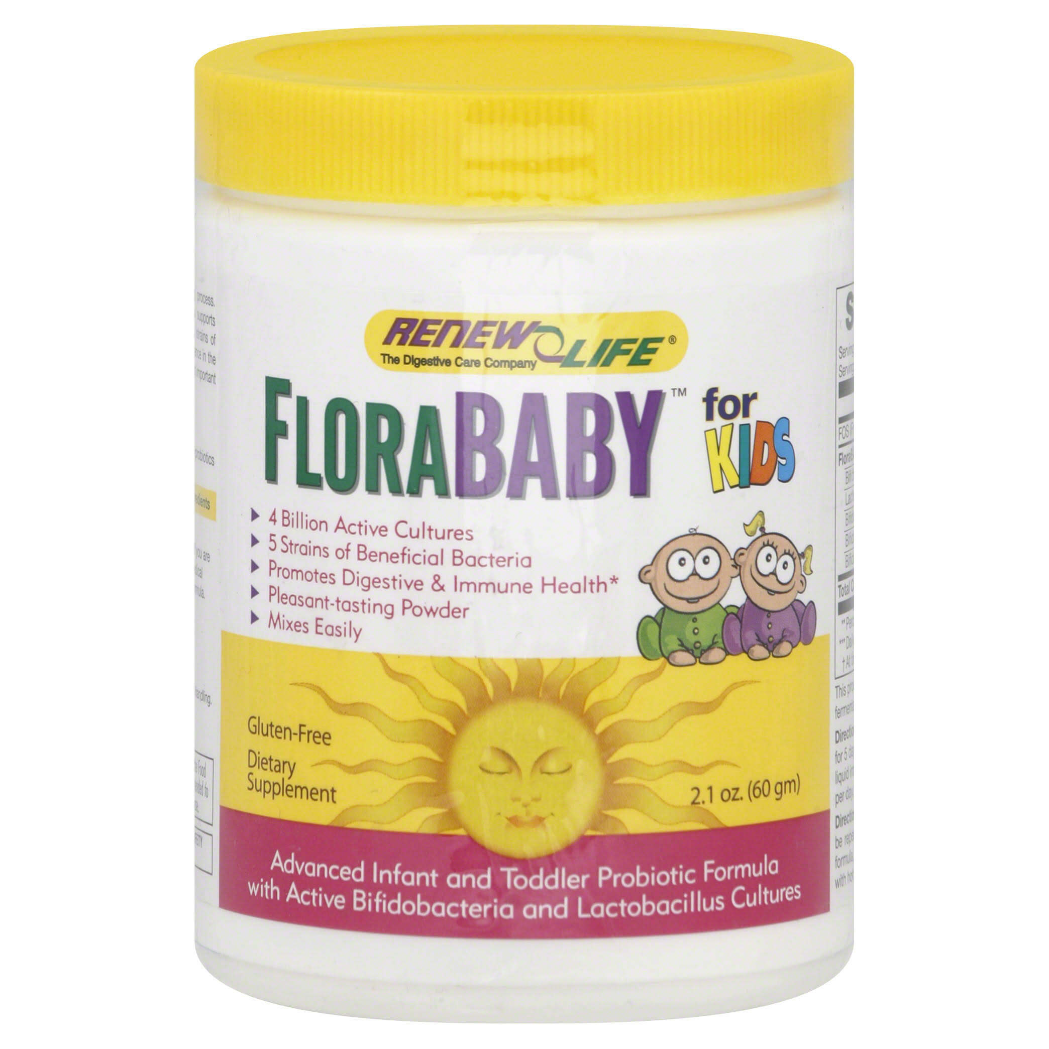 ReNew Life Flora Baby Advanced Probiotic Formula - 60g