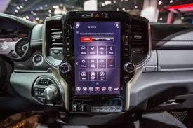 The New 2019 Ram 1500 Has A Massive 12-inch Touchscreen Display ... 2018 Honda Ridgeline Shop New Trucks In Dayton Oh Ottawa Car Audio Installs Audiomotive 2017 Gmc Sierra Denali 2500hd Diesel 7 Things To Know The Drive Setting Up The Best Sound System Newegg Insider Resigned 2019 Ram 1500 Gets Bigger And Lighter Consumer Reports Clarion Company Wikipedia St Marys Sydney Creative Stereo Speakers Subwoofers Marine Chicago Systems Installation Vision 2310b 24v Truck Security Double Din Navigation Video