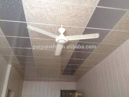 60x60 easy cleaning pvc drop ceiling tiles house ceiling design