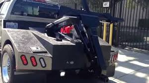 100 Tow Truck Beds Custom Built Repo Tow Truck Dynamic Slide In Unit YouTube