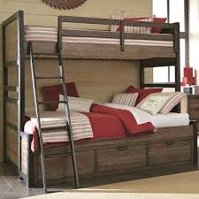 Bedroom Twin Full Bunk Bed Wood Loft Bed With Desk Double Bunk