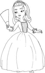 Sofia The First Coloring Pages Princess Butterfly