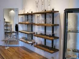 Reclaimed Wood Shelf Shelves Fumachine Bookshelves