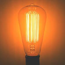 luminance 46771 edison style antique light bulb