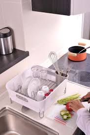 Simplehuman Sink Caddy Uk by 25 Beste Ideeën Over Simplehuman Dish Rack Op Pinterest