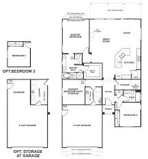 K Hovnanian Floor Plans by Four Seasons Floorplans Sun Lakes Realty